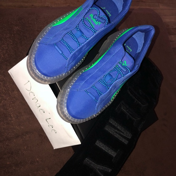 best authentic 9f18e 63fea Fenty Cleated Creeper - Surf NWT